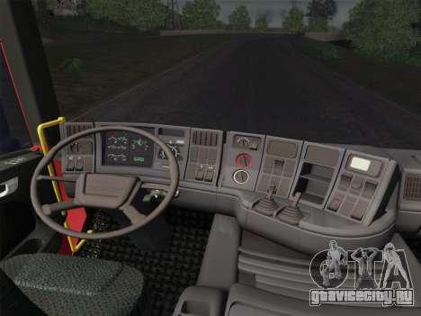 Scania 94D-260 Corpo Bombeiros SP для GTA San Andreas колёса