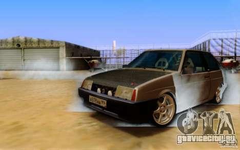 ENBSeries By Eralhan для GTA San Andreas третий скриншот