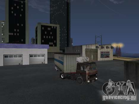 Полуприцеп Schmitz для GTA San Andreas вид справа