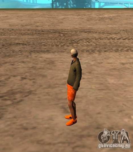 Skin id 212 для GTA San Andreas второй скриншот