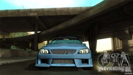 Lexus IS 300 Veilside для GTA San Andreas вид сбоку