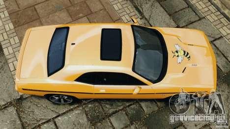Dodge Challenger SRT8 392 2012 [EPM] для GTA 4 вид справа