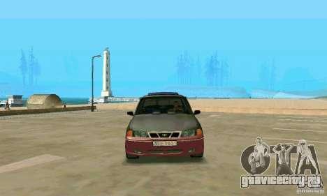 Daewoo Nexia Tuning для GTA San Andreas вид справа