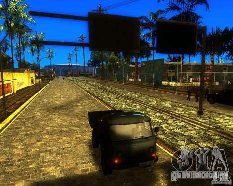 УАЗ 330364 для GTA San Andreas вид сзади слева