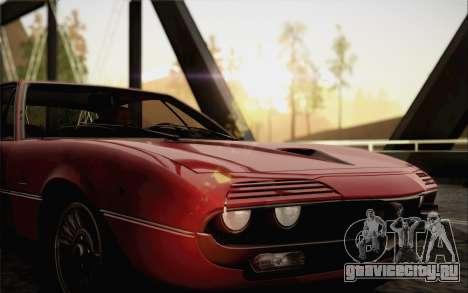 Alfa Romeo Montreal 1970 для GTA San Andreas вид справа