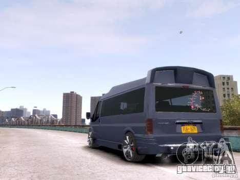 Ford Transit Sport Edition RV 2013 для GTA 4 вид справа