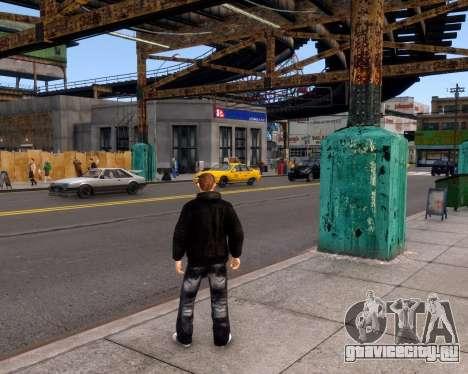 Куртка Jacket для GTA 4 пятый скриншот
