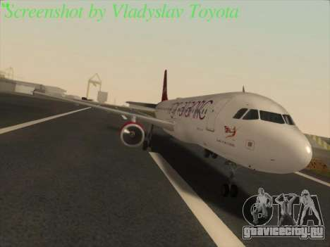 Airbus A320-211 Virgin Atlantic для GTA San Andreas