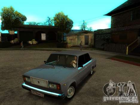 ВАЗ 2107 V2 для GTA San Andreas