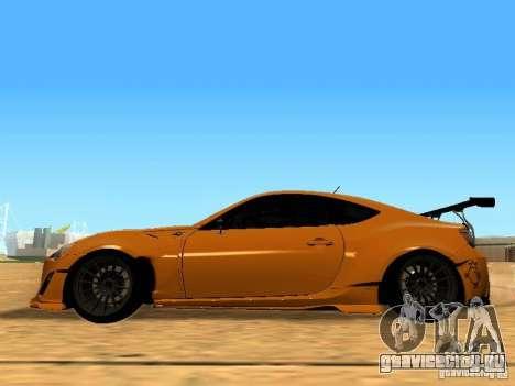 Toyota FT86 Rocket Bunny V2 для GTA San Andreas вид слева