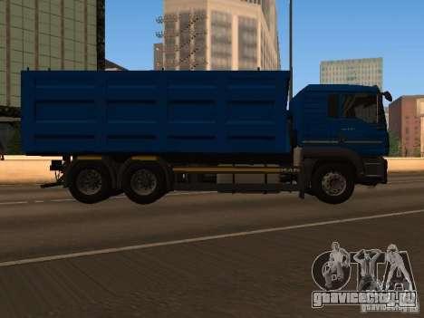MAN TGA 28 430 PALIFT для GTA San Andreas вид слева