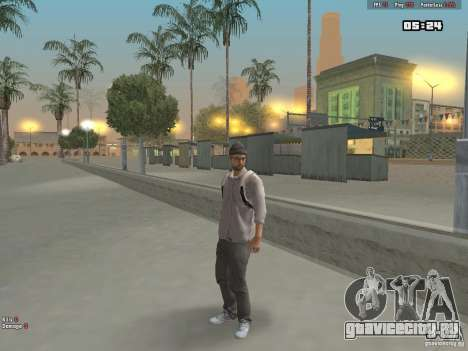 Skin Hipster v1.0 для GTA San Andreas третий скриншот