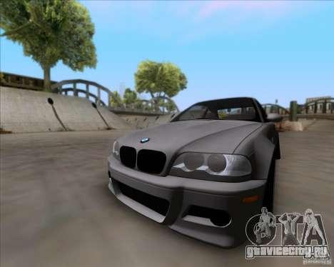 BMW 3-er E46 Dope для GTA San Andreas вид сзади слева