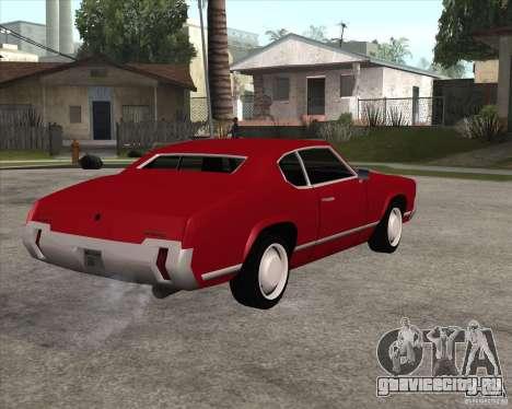 Sabre HD для GTA San Andreas вид слева