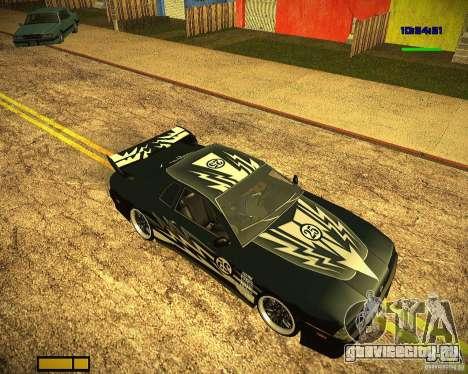 Пак винилов для Elegy для GTA San Andreas вид сзади слева