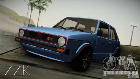 Volkswagen Golf MK1 для GTA San Andreas