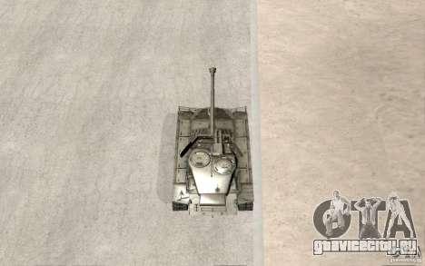 T26 E4 Super Pershing v1.1 для GTA San Andreas вид сбоку