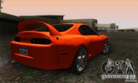 Toyota Supra Tunable для GTA San Andreas вид слева