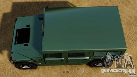 Hummer H1 Alpha для GTA 4 вид справа