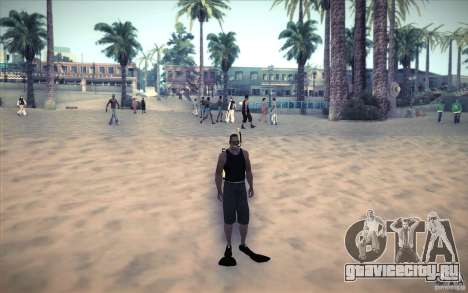 Акваланг для GTA San Andreas третий скриншот