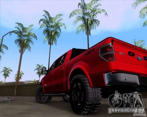 Ford F-150 4x4 для GTA San Andreas вид сзади