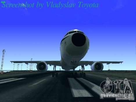 Airbus A320-214 Alitalia v.1.0 для GTA San Andreas двигатель