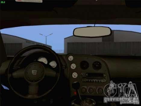 Dodge Viper GTS-R Concept для GTA San Andreas вид сверху