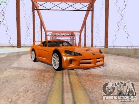 Dodge Viper GTS-R Concept для GTA San Andreas вид слева