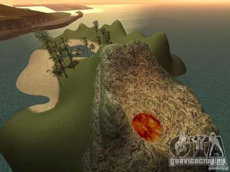 Volcano для GTA San Andreas третий скриншот