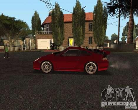 Porsche 911 GT3 RS для GTA San Andreas вид снизу