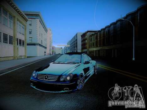 Mercedes-Benz CLK 55 AMG Coupe для GTA San Andreas