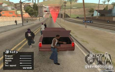 Trunk Hide для GTA San Andreas