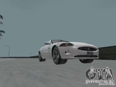 Jaguar XK для GTA San Andreas вид справа