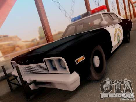 Dodge Monaco 1974 California Highway Patrol для GTA San Andreas