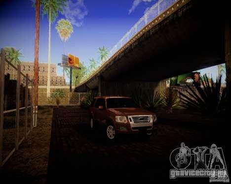 Ford Explorer для GTA San Andreas вид сзади слева