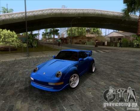 Porsche 911 GT2 RWB Dubai SIG EDTN 1995 для GTA San Andreas вид сверху