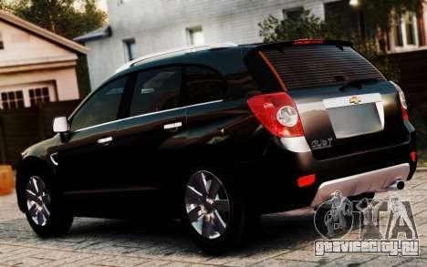 Chevrolet Captiva 2010 для GTA 4 вид слева
