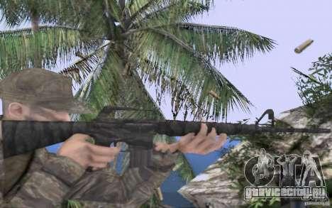 M16A1 Vietnam war для GTA San Andreas третий скриншот