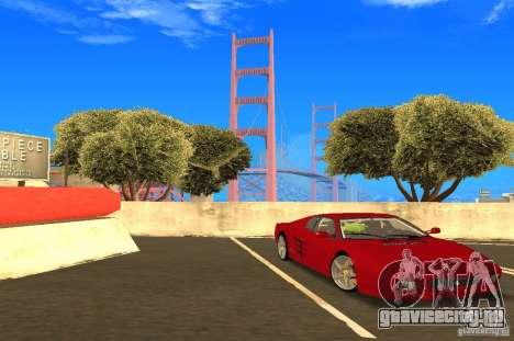 Ferrari 512TR для GTA San Andreas вид справа