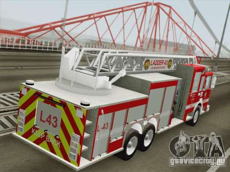 Pierce Arrow LAFD Ladder 43 для GTA San Andreas колёса