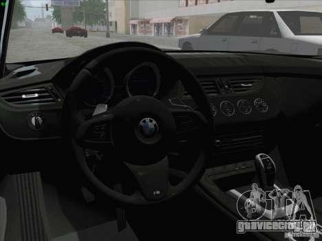 BMW Z4 2011 для GTA San Andreas вид справа