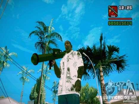 New Weapon Pack для GTA San Andreas седьмой скриншот