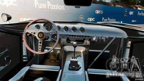 Ferrari 250 1964 для GTA 4 вид сзади