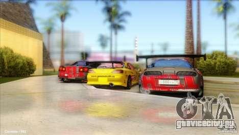 Nissan Silvia S15 NGK для GTA San Andreas вид справа