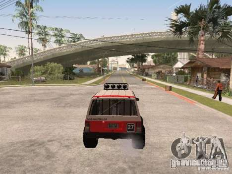 Jeep Cherokee 1984 для GTA San Andreas вид сверху