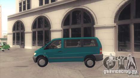 Mercedes-Benz Vito 112 для GTA San Andreas вид слева