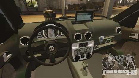 Volkswagen Parati G4 PMESP ELS для GTA 4 вид сбоку