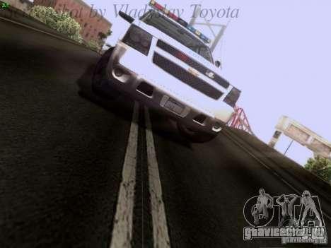 Chevrolet Avalanche 2007 для GTA San Andreas вид сзади