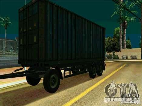 Прицеп к Iveco Stralis для GTA San Andreas