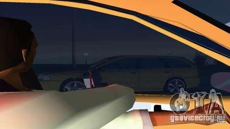 VOLVO V40 для GTA Vice City вид изнутри